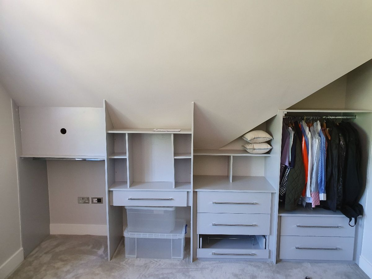 Built in bedroom wardrobes