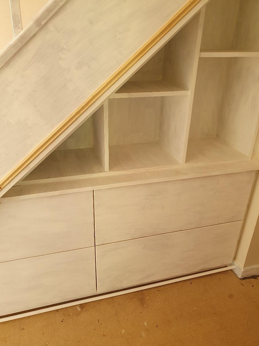 Understairs bespoke storage Surrey